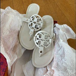 Tori Burch Miller sandals brand new in box size 5